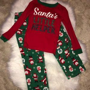 Santa's Little Helper Pjs